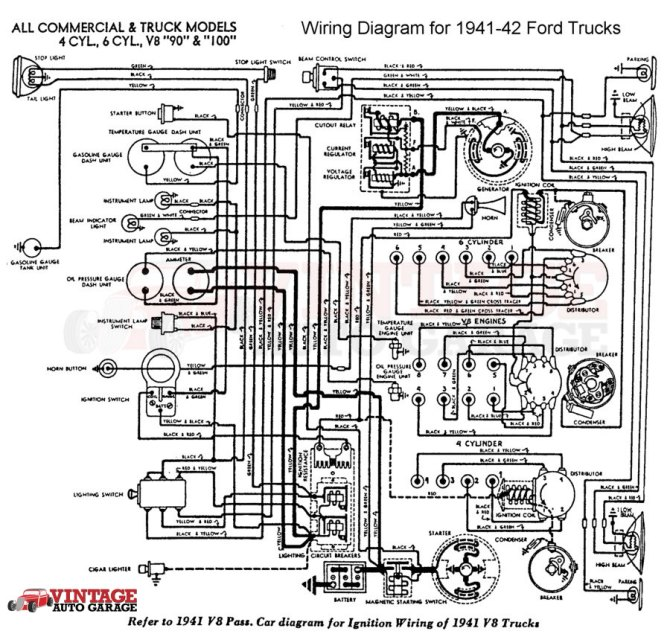 41 ford wiring diagram  center wiring diagram rockhousing