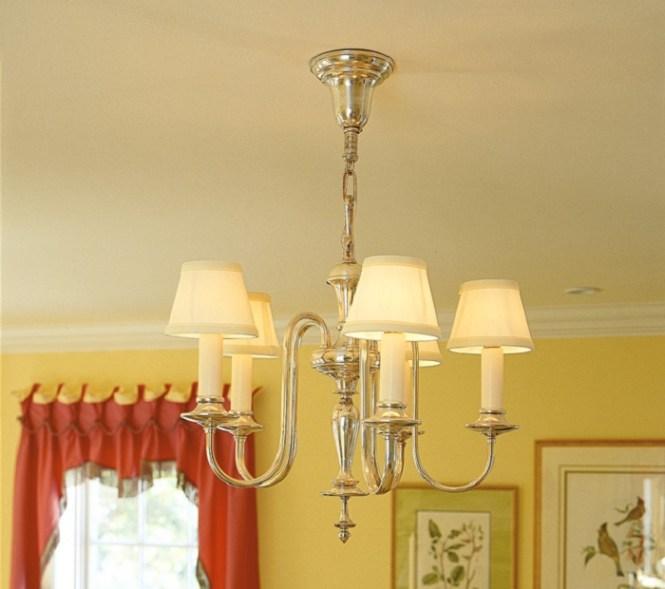 Vintage Originals Lighting Portfolio Electric Candle Chandelier Bedroom Image
