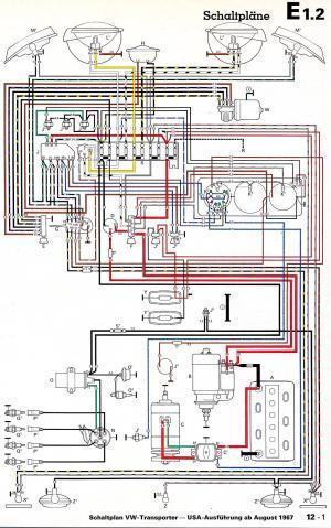 Vw T Horn Wiring Diagram Volkswagen Transporter T4 Fuse
