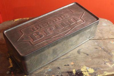 boite à biscuit rétro 1960