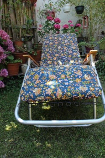 fauteuil plein air 1960