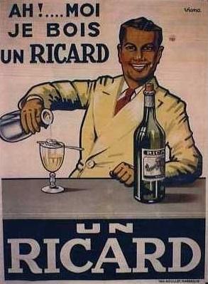 publicité ricard 1950