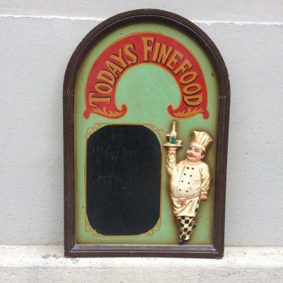 Tableau restaurant vintage