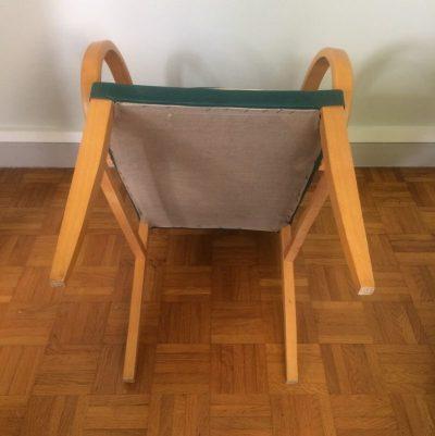 Ancien fauteuil bridge