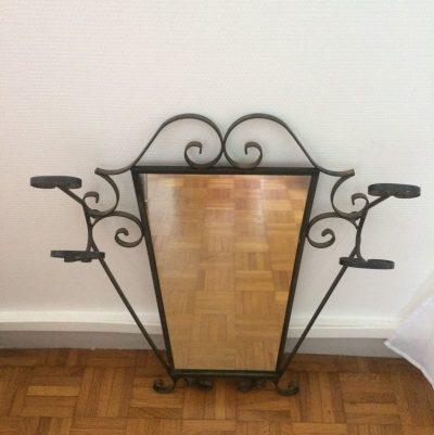 Miroir vestiaire vintage