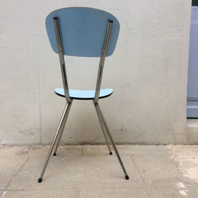 Chaise formica vintage