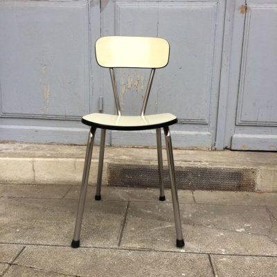 Chaise de cuisine formica