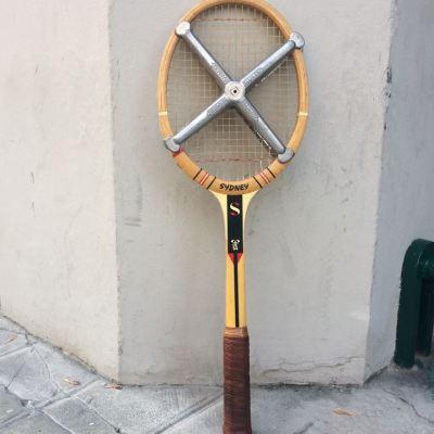 Raquette de tennis Sydney avec croix de tension zephir