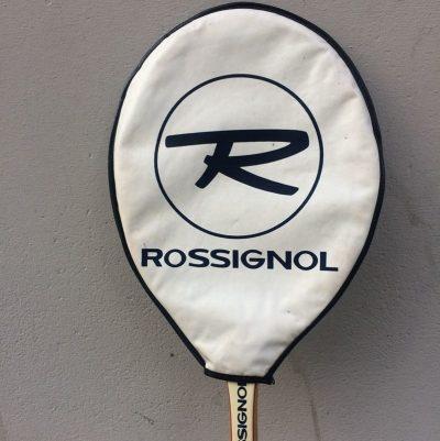 Raquette tennis cadre bois Rossignol