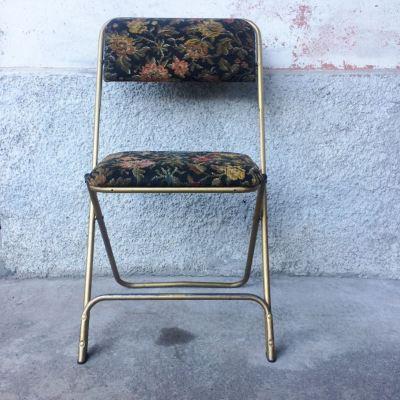 Chaise pliante vintage 1960