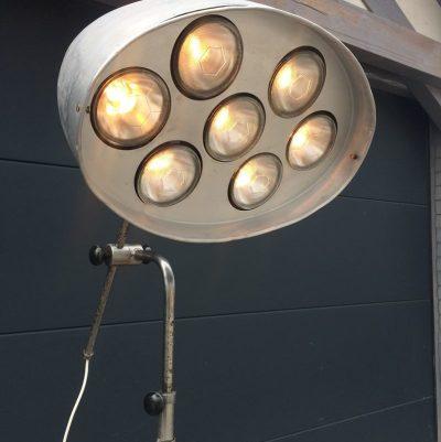 Ancienne Lampe atelier vintage RG Levallois