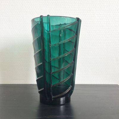 Ancien vase style Art Déco