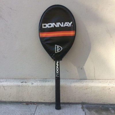 Ancienne raquette Tennis Donnay cadre bois