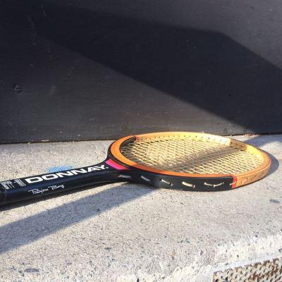 Raquette Tennis Vintage Bjorn Borg