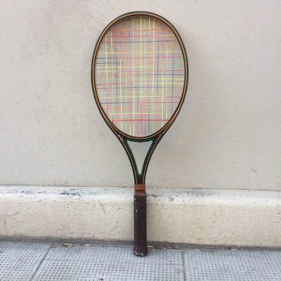 Ancienne Raquette de tennis Prince Woodie