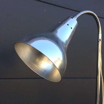lampadaire vintage extensible en hauteur