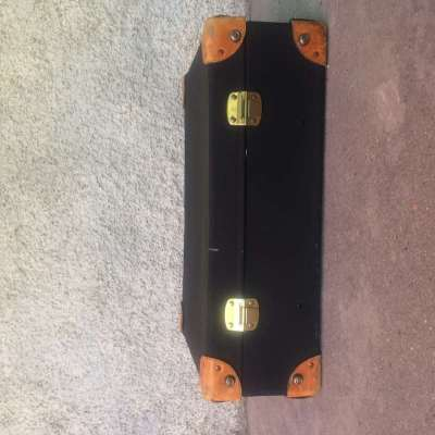 valise noir années 60