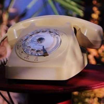 Téléphone PTT à cadran vintage