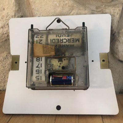 Ancienne horloge formica Jaz vintage