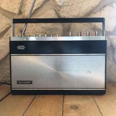 Radio vintage années 80