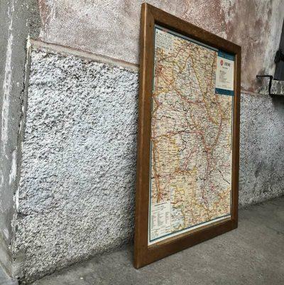 Ancienne carte departement isère