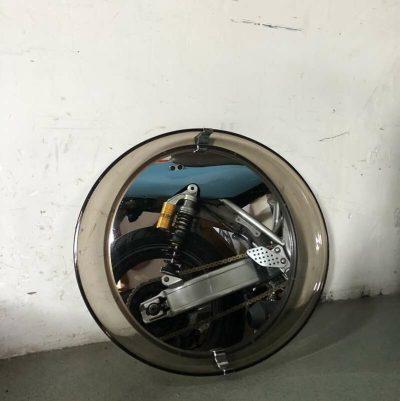 Miroir ovale vintage