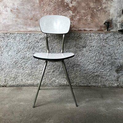 chaise années 70 formica
