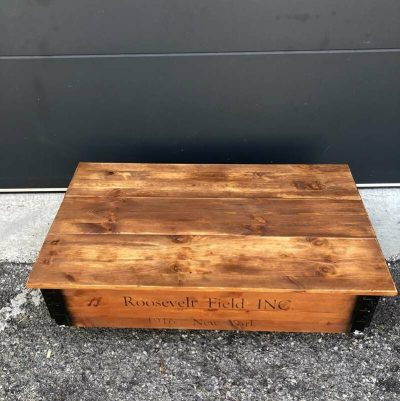 Table basse esprit indus' Roosevelt field