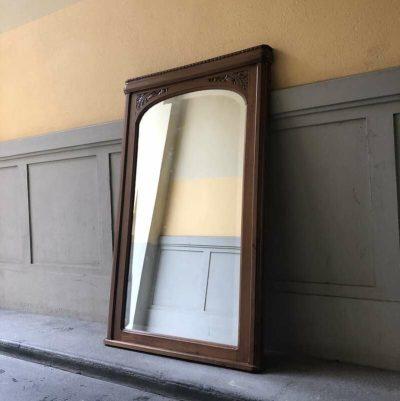 Miroir cheminée ancien