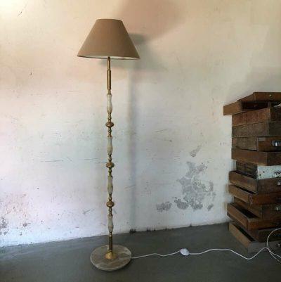 Lampe haute sur pied années 50