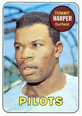 Image result for tommy harper 1969 baseball card images