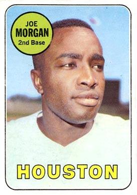 Image result for joe morgan 1969 baseball card image
