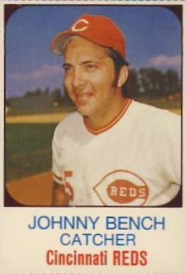 1975 Hostess Johnny Bench 83 Baseball Card Value Price Guide