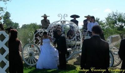 Cinderella carriage with Vaqueros