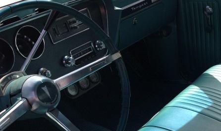 1967 Pontiac Tempest Dashboard