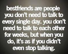 Best friends...