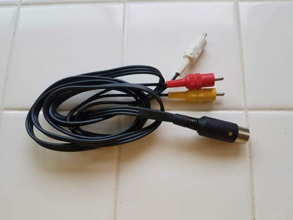 A/V Audio Video TV Cable