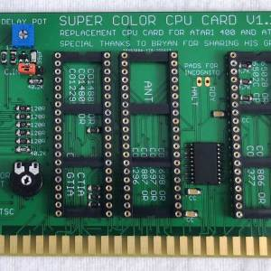 Super Color CPU Card