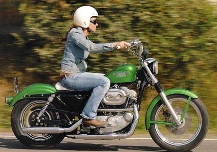 Harley-Davidson Sportster Hugger 883