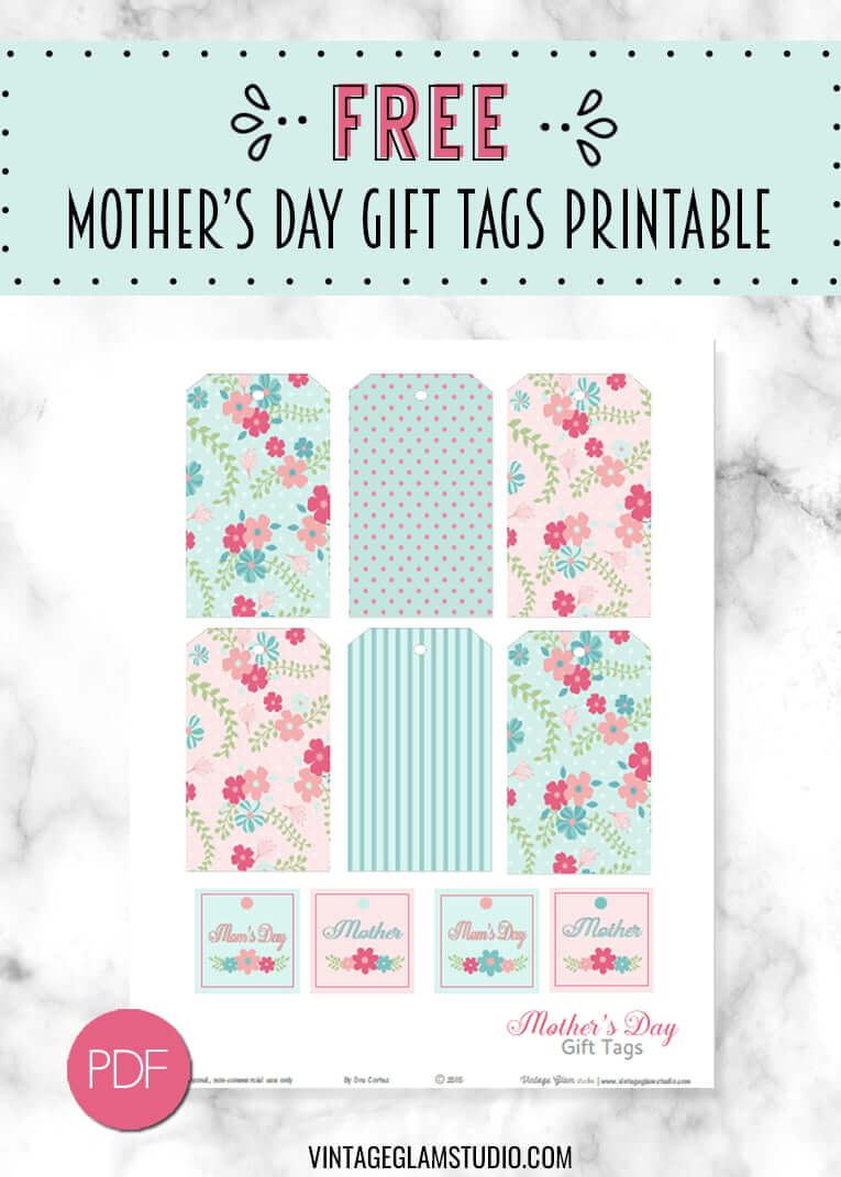 mother's day gift tags printable
