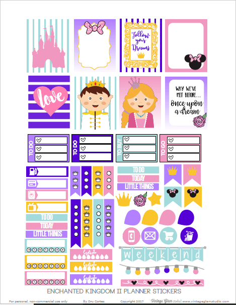 Enchanted Kingdom 2 | free printable, for personal use only