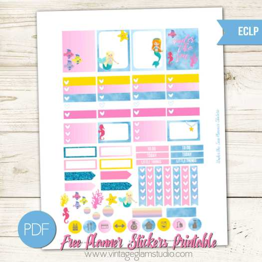 Free Erin Condren printable, for personal use only