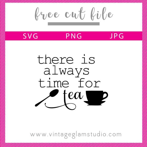 Tea Cut File | Free svg file