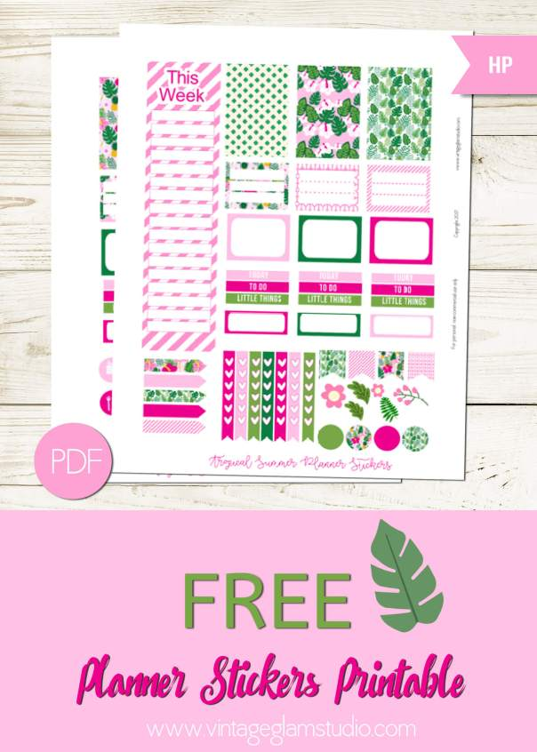 planner stickers, happy planner