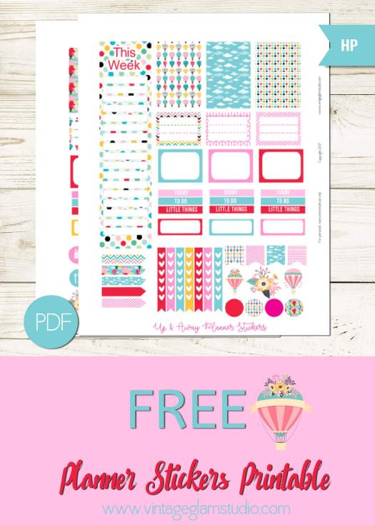 Free printable for the Classic Happy Planner
