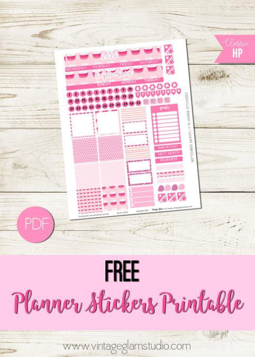 aSeptember Monthly Planner printable