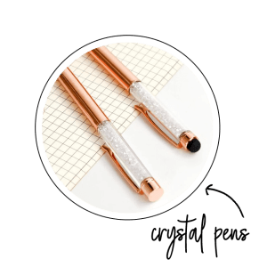 planner crystal pen