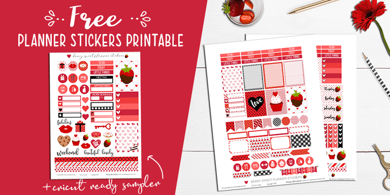 desktop, planner stickers printable