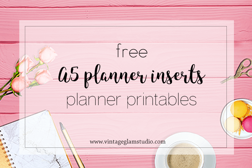 graphic relating to Free A5 Planner Printables known as A5 Planner Inserts - In the direction of Do Lists - Typical Glam Studio