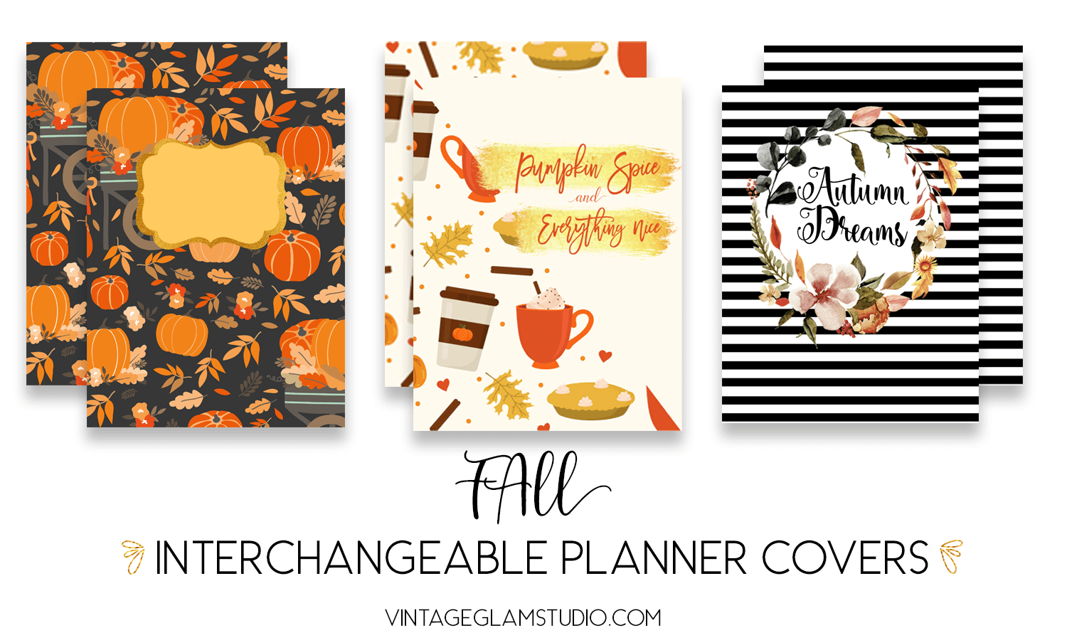 interchangeable planner covers
